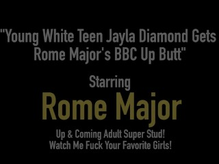 Youthful milky teenager Jayla Diamond Gets Rome Major's big black bushwa Up borrow freesex