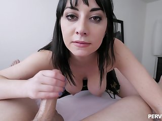 Rough POV pussy pounding with personable Allesandra Snow