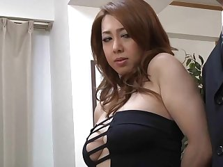 corpulent japanese MILF Yumi Kazama porn video