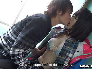 Japanese Jack Tar girl Sena Sakura squirts riding hard dick increased by gets her pussy creampied