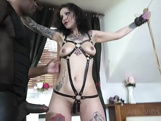 Natasha Tied Round And Assfucked Hard