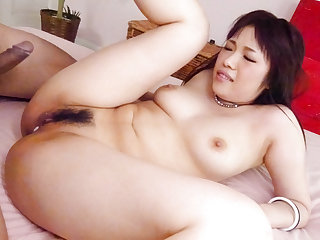 Busty, Yuri Sato, craves for cock in their way tight vag